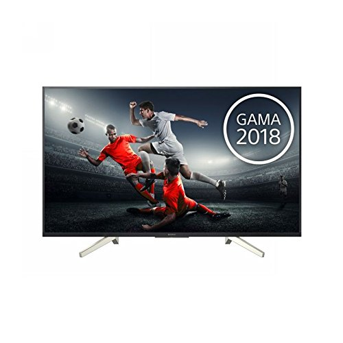 "Sony KD-49XF8596 - Televisore 49"" 4K HDR LED con Android TV (Motionflow XR 1000 Hz, 4K HDR Processor X1, schermo TRILUMINOS, Wi-Fi), nero"