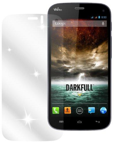 dipos I 6X Schutzfolie klar passend für Wiko Darkfull Folie Bildschirmschutzfolie