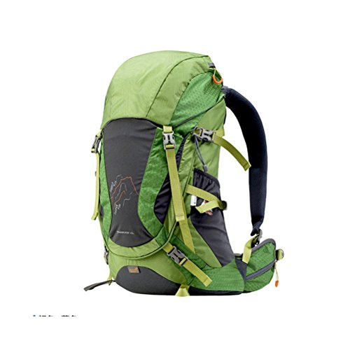 45L Outdoor Rucksack Professional Bergsteigen Tasche Schulter Paket green