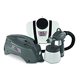 Earlex HV3901VUK Electric Paint Sprayer for Wall & Ceiling/Wood & Metal paint - interior and exterior usage, 1500 ml capacity, 550 W, 4 m hose