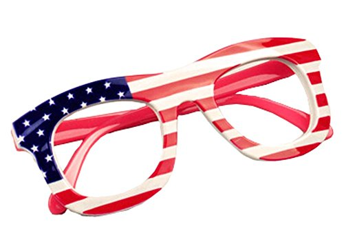 Mode Kinder-Brille-Rahmen-Flagge-Art-Glas-Rahmen