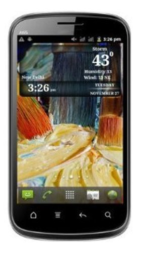 Micromax Smarty 4.3 A65 (Black)
