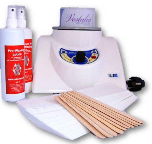 Depilación Set Basic 800ml con cera lata Fieltro rayas Cuidado Tratamiento