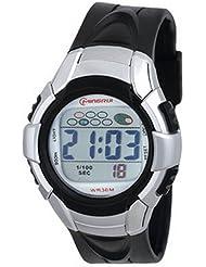 Montre digital Homme - bracelet Plastique Noir - Cadran Rond Fond Noir - Marque Mingrui - MR8511
