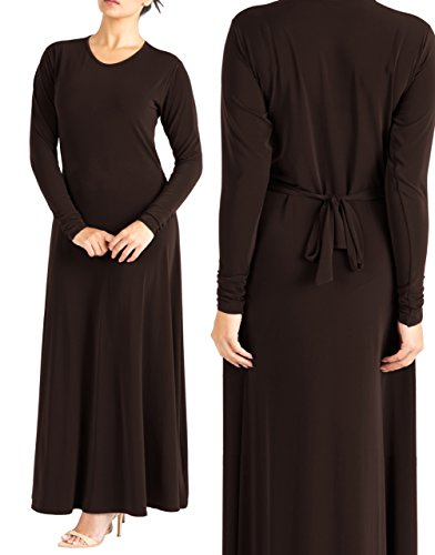 A-Line Abaya - Brown 12 56 for sale  Delivered anywhere in UK