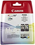 Canon PG510/ CL511 Ink Cartridge Multi Pack - Black/ Colour