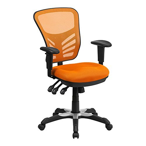 flash-furniture-mid-back-orange-mesh-chair-with-triple-paddle-control-by-flash-furniture