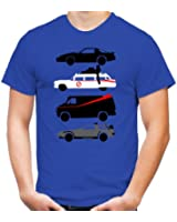 Kult Cars T-Shirt   A-Team   Ghostbusters   Knight Rider   Back to Future   Fun