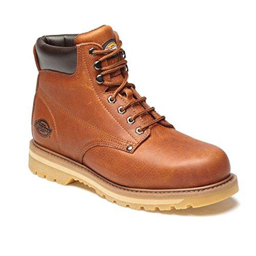 Dickies - Chaussures montantes non-sécurité - Unisexe Marron