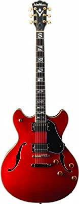 Washburn HB35WRK - Guitarra eléctrica, color rojo