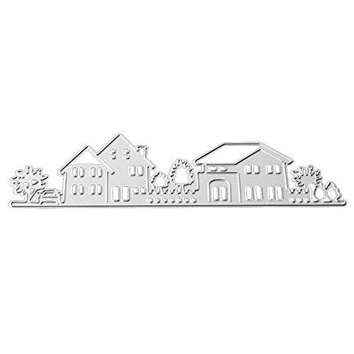 Merssavo ( Form 7?Metall Silber Schneiden Stirbt Schablonen Scrapbooking Album Karte Prägung Handwerk Dekor
