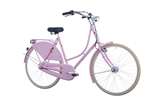 41RcX73vyML - ORTLER Van Dyck Women rose 2019 City Bike