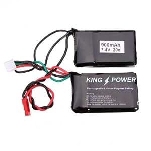 2S 7.4V 900mAh 20C Lipo batterie Pour HBX 1/24 Mini sur route