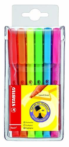 stabilo-flash-evidenziatore-colori-assortiti-astuccio-da-6