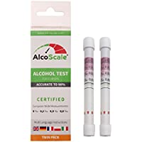 Alcoscale – Alcohol Tester for Europe (de/FR/IT/GB, PL) Twin Pack