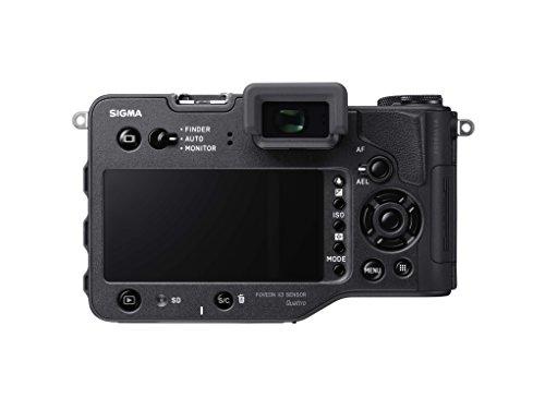 Sigma sd Quattro H spiegellose Systemkamera (45 Megapixel, 7,6 cm (3 Zoll) Display, SD-Kartenslot, SDHC-Kartenslot, SDXC-Kartenslot, Eye-Fi-Kartenslot) schwarz - 2