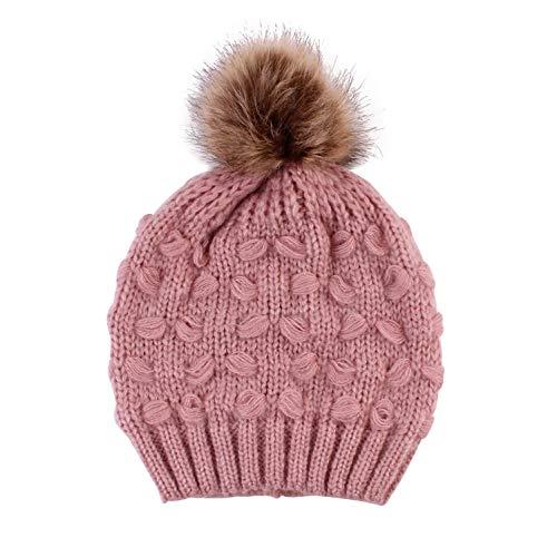 mini cute Baby Mutter Strickmütze Winter Kinder Beanie Ski Mützen Hüte (Asap Beanie)