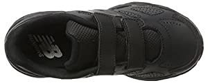 New Balance Unisex Kids' 680 Running Shoes, Black (Black/Black), 2 UK 34.5 EU