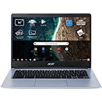 "Acer Chromebook 314 - Portátil 14"" FullHD (Intel Celeron N4020, 4GB RAM, 64GB eMMc, Intel UHD Graphics, Chrome OS), Teclado QWERTY Español, Color Plata"
