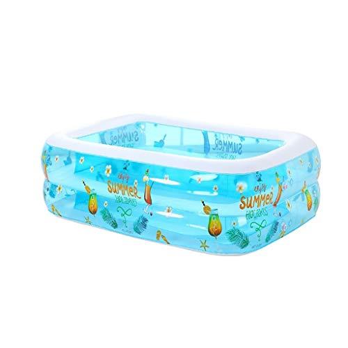 TXOZ Haushalt Zweiten Ring Kinder Verdickte Isolierung Aufblasbaren Pool, Marine Ball Pool Spielen Pool 120 cm × 90 cm × 36 cm Badewanne (Pool Aufblasbaren 36)