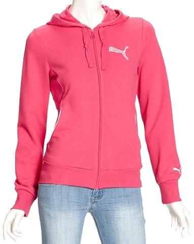 Puma sweat Jacket Veste à capuche Logo de Terry L chèvrefeuille