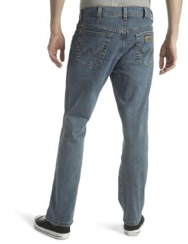 Wrangler Herren Jeans, Texas Stretch Darkstone Blau (Stonewash 010)