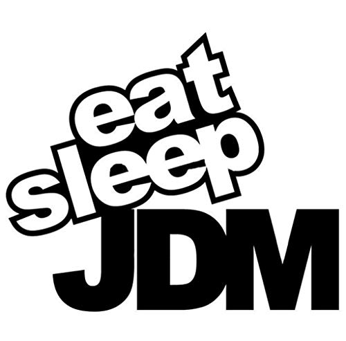 Eat Sleep JDM Un Divertido Coche Con Un Divertido Coche