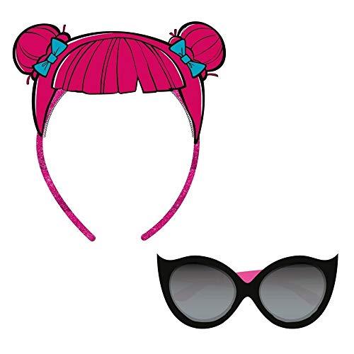 L.O.L. Surprise ! Sonnenbrille Für Mädchen Mit Puppen Stirnbändern LOL   Sommer Geschenk Von It Baby, Doll Face Oder Teacher's Pet   Offizielles Produkt (Teacher's Pet)