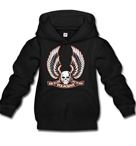 Ride Full Zip Sweatshirt (Hot Rod Hoodie Kapuzenpullover Orginal USA Motiv
