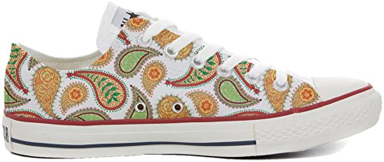 Converse All Star Zapatos Personalizados (Producto Artesano) Quirky Paisley  -