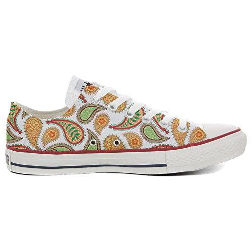 stomized - personalisierte Schuhe (Handwerk Produkt) Quirky Paisley Size 37 EU ()