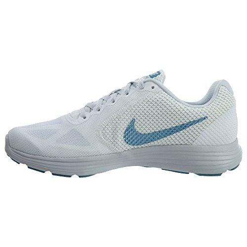 Nike Lunarglide 7 Scarpe Da Corsa Da Uomo Bianco-azzurro