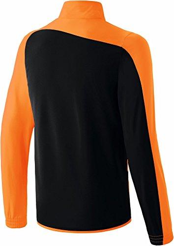 erima Kinder Anzug Club 1900 Jacke Schwarz/Neon Orange