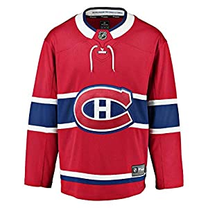 Fanatics Montreal Canadiens Breakaway NHL Trikot Home Rot