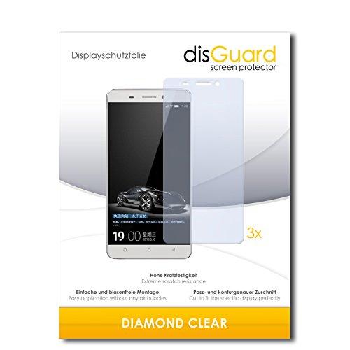 3 x disGuard® Schutzfolie Gionee Marathon M5 Bildschirmschutz Folie