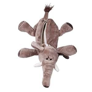 Y-BOA - Trousse à Crayons/Ecole/Maquillage -Animal Mignon- Enfant/Adult-Pochette Peluche- Cosmetique/Fourniture Scolaire (#6 Brun Eléphant)