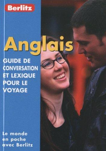 Guide de conservation et lexique pour le voyage : Anglais