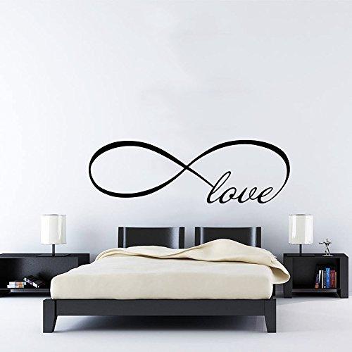 De pared forma cubo amor infinito símbolo Love Infinity