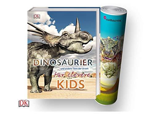 re Tiere der Urzeit für clevere Kids: Lexikon mit über 1500 farbigen Abbildungen (Gebundenes Buch) + gratis Dino-Poster ()