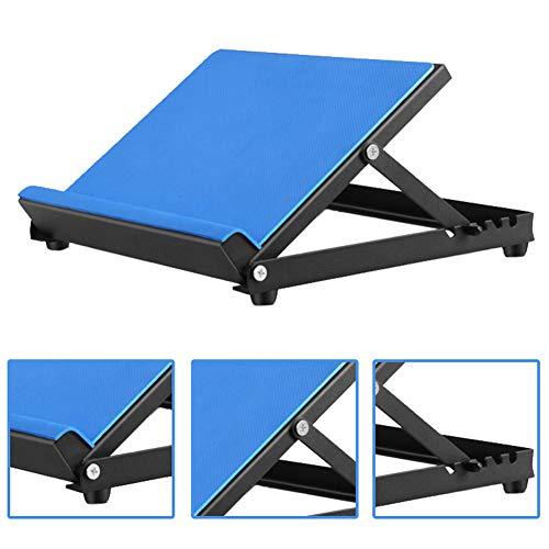 QINAIDI Incline Board und Calf Stretcher zum Dehnen, mit Rutschfester Oberfläche, Knöcheltherapie-Stretchkeil