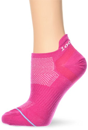 1000 Mile Damen Lauf Socken 1548 Trainereinlage Socks, Hot Pink, S, 1548FLS