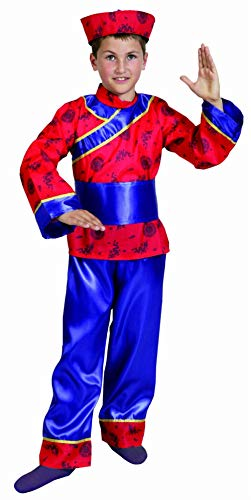 Boys Toys Disfraz Chino 10-12 años