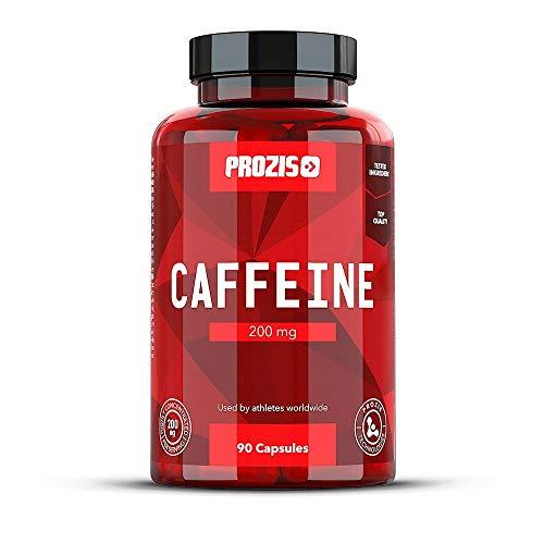 Prozis Caffeine - Cafeína, 200 mg, 90 cápsulas
