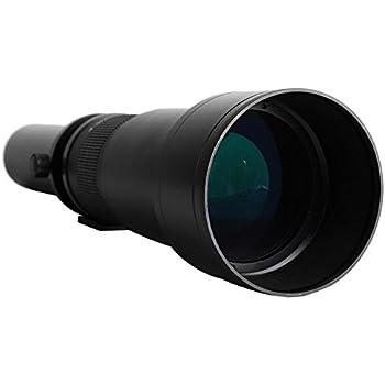 Elerose 50-1300mm F8-16 Manual Focus Ultra Teleobjetivo Lente de ...