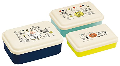 Skaters Snoopy [Lunch Box] gigognes Doux Joint à Nourriture 3P Lot/Amis Peanut