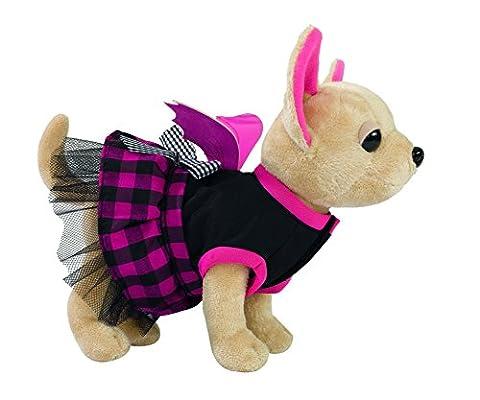 Simba 105894839 - Chi Chi Love Plüschhund 20cm mit Tasche in Form eines Sarges (Simba Chi Chi)