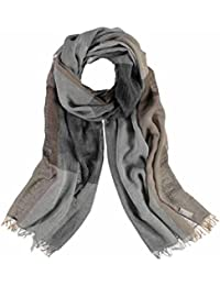 FRAAS Men's Checkered Scarf One size