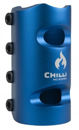 Chilli Pro Scooters 4 Bolts SCS Clamp oversized (blau) (Scooter Pro Scs)