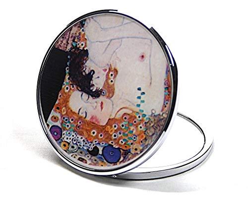 Parastone Museums Kollektion Pocket Mirror with Gustav Klimt Motiv - 3 Ages  of Woman