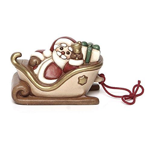 THUN Slitta con Babbo Natale Bimbi e Personaggi, Ceramica, usato  Spedito ovunque in Italia